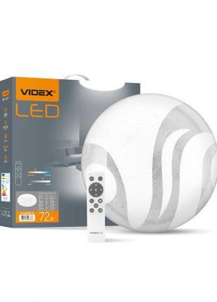 LED светильник функциональный круглый VIDEX GLANZ 2 72W 2800-6...