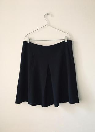 Юбка темно-серого цвета zara серая юбка килт зара