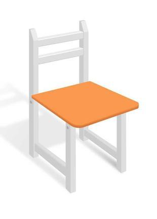 Гр Стульчик СЦ 007 цвет бело-оранжевый