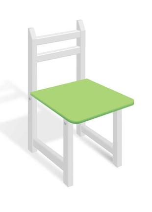 Гр Стульчик СЦ 006 цвет бело-зелёный