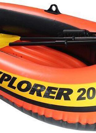 Надувная лодка Intex 58330 NP Explorer 200 (без весел)