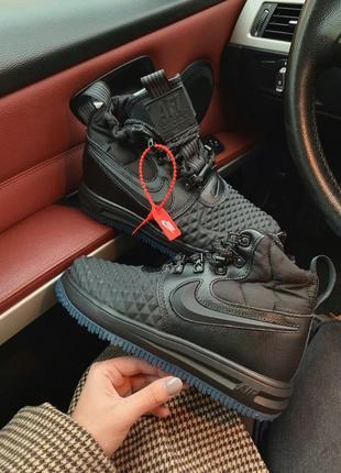 Nike lunar force 2 duckboot black женские демисезонные кроссов...