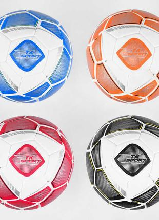 """Мяч футбольный C 44458 (60) """"TK Sport"""", 4 вида, вес 400-420 гр..."""