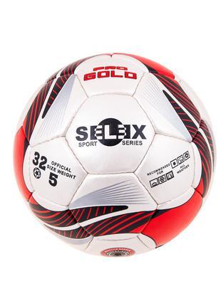 Мяч футбольный Grippy PRO GOLD Pearl, красный