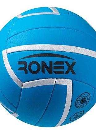 Мяч волейбольный Ronex Sky Cordly, синий