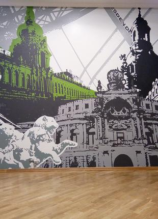 Роспись интерьера, Дрезден.