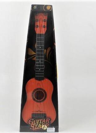 Гитара 6 струнная в коробке 8030-1A