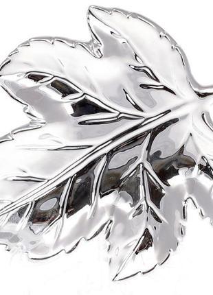 """Набор 6 керамических декоративных блюд Goreidh """"Кленовый лист""""..."""