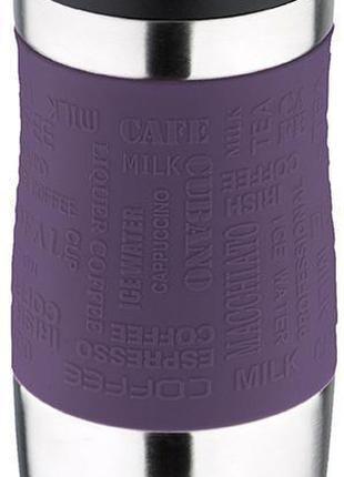 Термокружка San Ignacio Premium Purple 400мл с силиконовой нак...