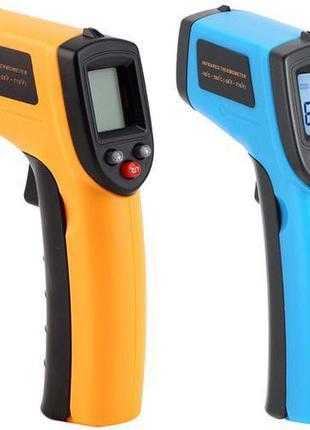 Термометр цифровой дистанционный (пирометр) ИК -50С до +380С с...