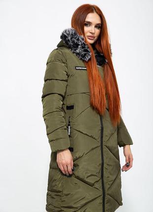 Куртка пальто длинная еврозима синтепон
