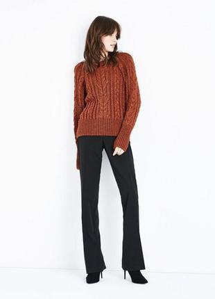 Крутой объёмный свитер оверсайз, рукав летучая мышь