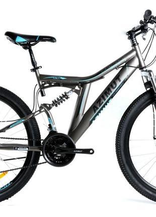 Горный двух подвесной велосипед Azimut Blackmount 26 18 FRD 26...