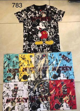 Акция дня!!! mickey mouse крутые мультяшные футболки