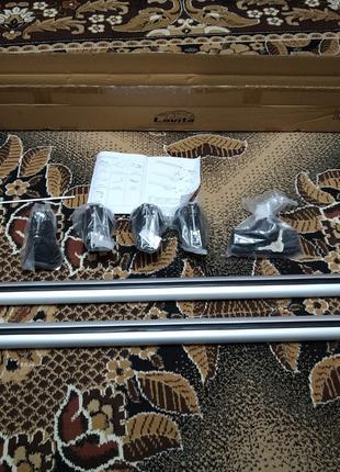 Багажник на рейлинги универсальный Lavita 121 см с замками 240688