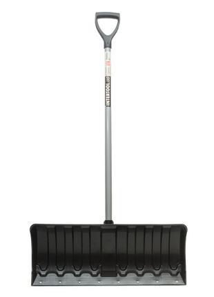 Лопата для уборки снега 620*280мм с ручкой 970 мм INTERTOOL FT...