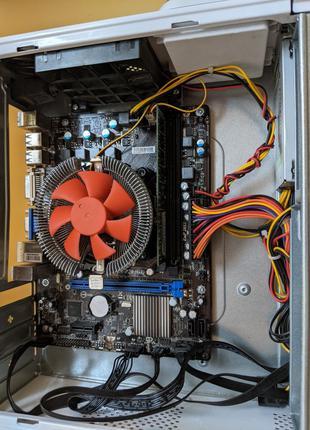 Компьютер, intel g850, socket 1155, ddr-3 4gb.