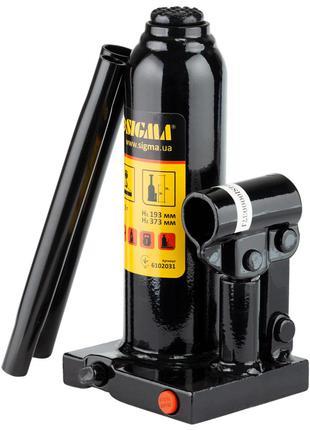 Домкрат гидравлический бутылочный 3т H 193-373мм (кейс) SIGMA ...