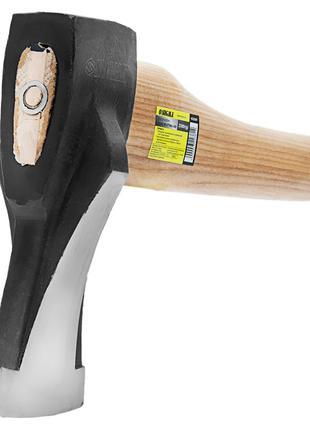 Топор колун 1200г деревянная ручка (ясень) SIGMA (4322341)