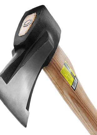 Топор колун 2500г деревянная ручка 700мм (ясень) SIGMA (4322381)