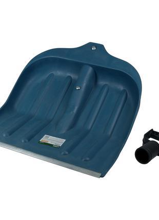 Лопата для уборки снега пластиковая с алюминиевой планкой 435×...