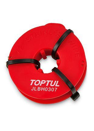Струна для срезки стекол (22м, нержавеющая сталь) TOPTUL JLBH0307