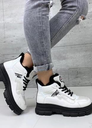 Женские ботинки евро зима