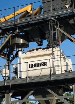 Бетон с завода LIEBHERR