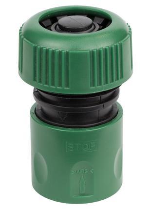 """Коннектор 1/2"""" быстросъёмный аквастоп для шланга ¾"""" GRAD (5016..."""