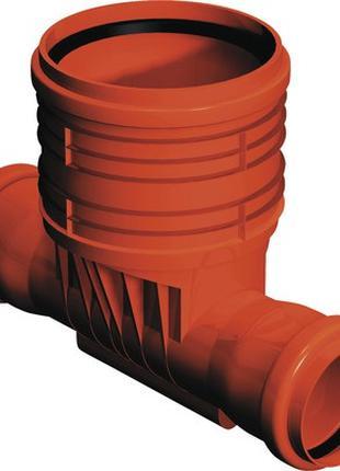 Колодец проходной ПВХ 400 / 110 для гладких труб