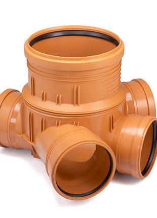 Колодец сборный ПВХ 425/300 для гофрированных труб