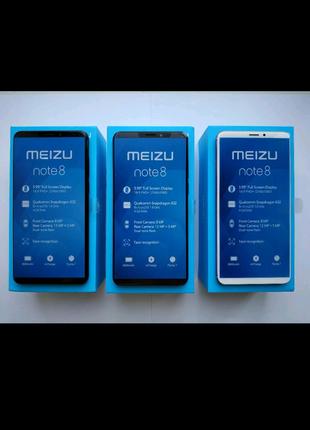 Meizu  Note8, 4/64,Snapdragon 632+ 5D стекло+силиконовый чехол.