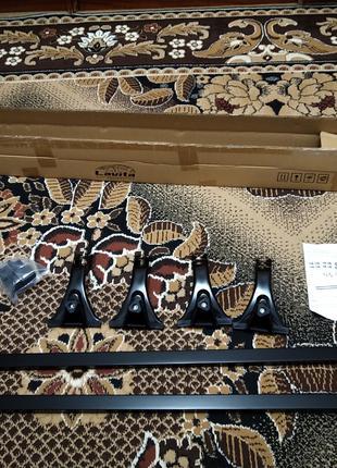 Багажник на водостоки Lavita 120 см крашенные дуги 240777/48