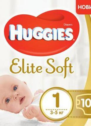 Подгузник Huggies Elite Soft 1 Giga (3-5 кг) 100 шт (502905354...
