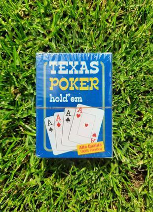Настольная игра texas poker hold'em для покера в покер карты