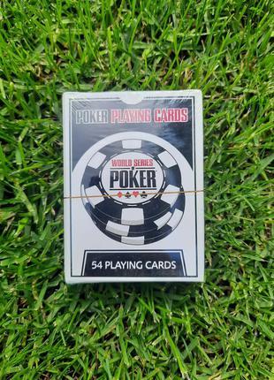 Настольная игра poker playing cards world or series покер карты