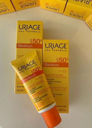 Флюид Uriage spf50 от пигментации