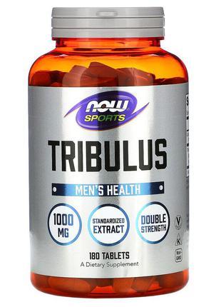 USA Трибулус 1000 мг 180 таблеток Now Foods терестрис Трібулус СШ