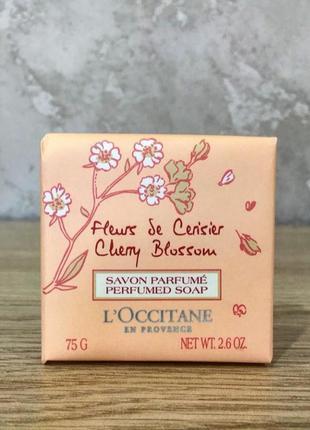 L'occitane парфумоване мило вишневий цвіт 75 г