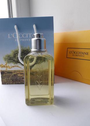 L'occitane гель для душа вербена 75 мл