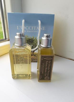 L'occitane loccitane гель для душу вербена 75 мл