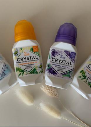 Шариковый дезодорант crystal