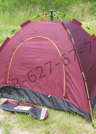 Палатка автоматическая туристическая 3-х местная автомат