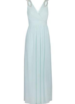 🎈🛍нас 10 тысяч🛍🎈happy sale🎁   ментоловое платье макси вечернее...