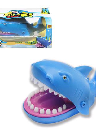 """Игра """"Акула-кусачка"""", синяя"""
