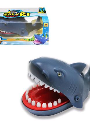 """Игра """"Акула-кусачка"""", серая"""