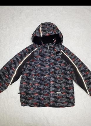 Зимняя самая теплая куртка lenne 128
