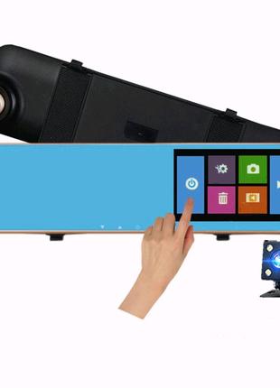 Зеркало-видеорегистратор 4.3″ DVR L502 full hd (авторегистратор с