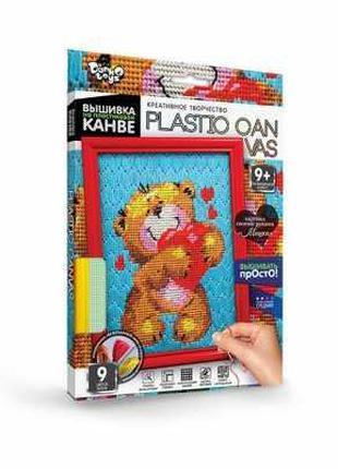 """Гр Набор для творчества """"Вышивка на пластиковой канве PLASTIC ..."""