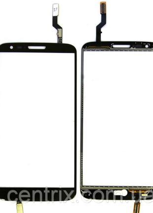 Тачскрин (сенсор) для LG D800 (D801, D803) (G2), цвет черный